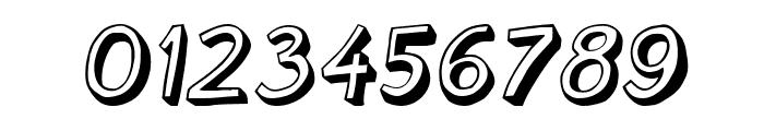 Cartoonish Italic Font OTHER CHARS