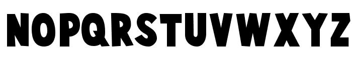CartoonistKooky Font LOWERCASE
