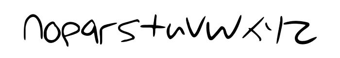 Cartoony_Worldoz Font LOWERCASE