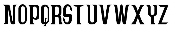 Caruban Font UPPERCASE