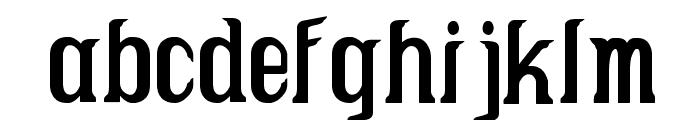Caruban Font LOWERCASE