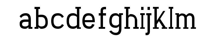 Carved Rock Regular Font LOWERCASE