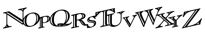 CasOpenOutaControlSSK Bold Font UPPERCASE