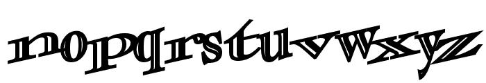 CasOpenOutaControlSSK Bold Font LOWERCASE