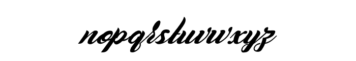 Casablanca Noir Personal Use Regular Font LOWERCASE