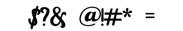 Casablanca Font OTHER CHARS