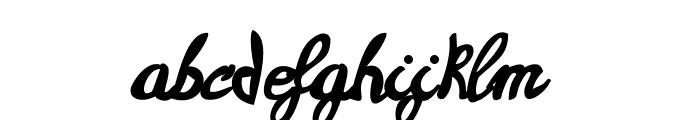 Casablanca Font LOWERCASE