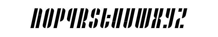 Case printitalic Font UPPERCASE