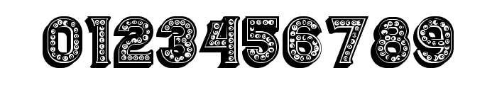 Casino 3D Filled Marquee Regular Font OTHER CHARS