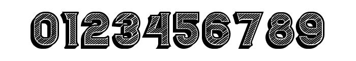 Casino 3D Lines Regular Font OTHER CHARS