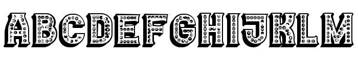 Casino 3D Marquee Regular Font UPPERCASE