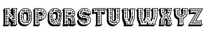 Casino 3D Marquee Regular Font LOWERCASE