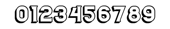 Casino 3D Regular Font OTHER CHARS