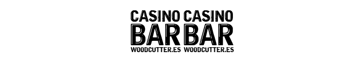 Casino Bar Font OTHER CHARS