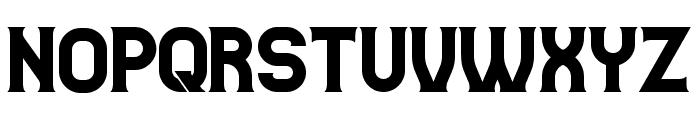 Casino Flat Regular Font UPPERCASE