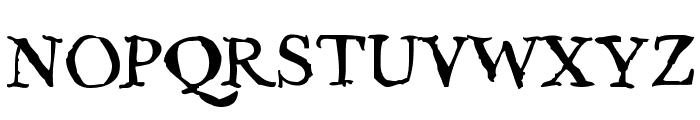 Caslame Font UPPERCASE