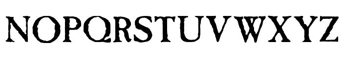 Caslon Antique Font UPPERCASE
