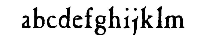 Caslon Antique Font LOWERCASE