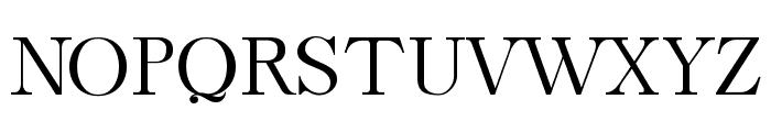 Caslon-Bold Font UPPERCASE