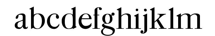Caslon-Bold Font LOWERCASE