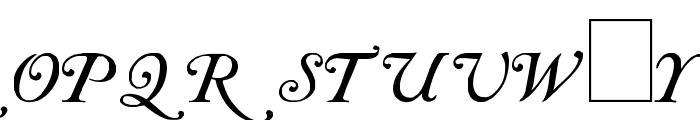 Caslon Initials Font LOWERCASE