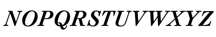 CaslonAgOpti-BoldItaSwash Font UPPERCASE