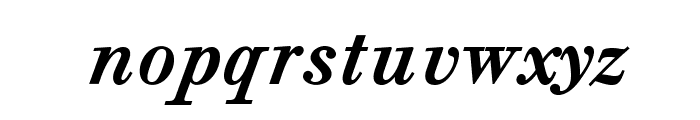 CaslonAgOpti-BoldItaSwash Font LOWERCASE