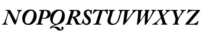 CaslonBlackSSK Italic Font UPPERCASE