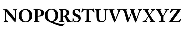 CaslonBlackSSK Font UPPERCASE