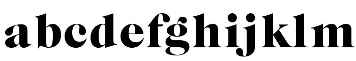 CaslonGraphique-Opti Font LOWERCASE