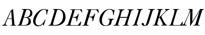 CaslonLightSSK Italic Font UPPERCASE