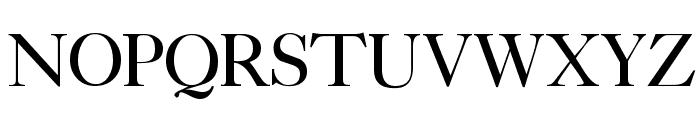CaslonLightSSK Font UPPERCASE
