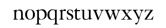 CaslonLightSSK Font LOWERCASE