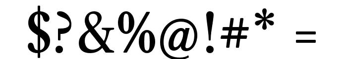 CaslonOS-Regular Font OTHER CHARS