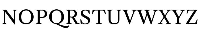 CaslonOS-Regular Font UPPERCASE