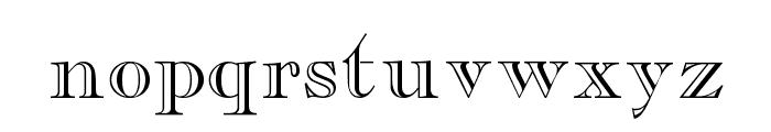 CaslonOpenFaceSSK Font LOWERCASE