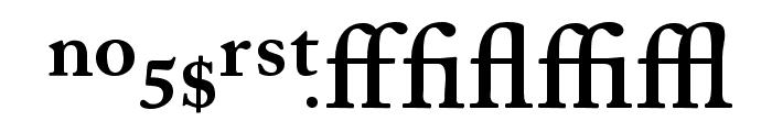 CaslonProSSK SemiBold Font UPPERCASE