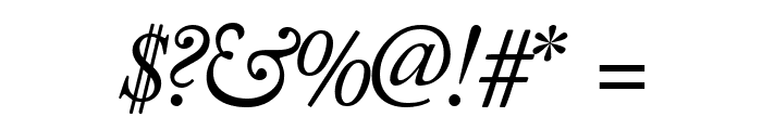 CaslonSSK Italic Font OTHER CHARS