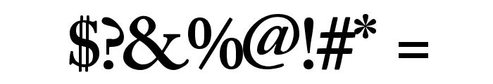CaslonSSK SemiBold Font OTHER CHARS