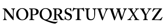 CaslonSSK SemiBold Font UPPERCASE