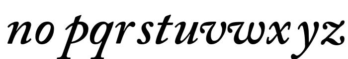 CaslonSSK SemiBoldItalic Font LOWERCASE