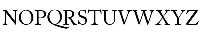 CaslonSSK Font UPPERCASE