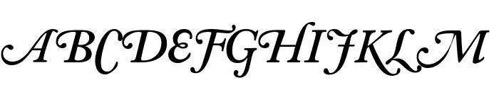 CaslonSwashSCapsSSK SemiBoldItalic Font UPPERCASE