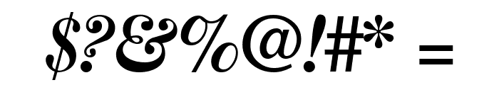 CaslonThreeSSK Italic Font OTHER CHARS