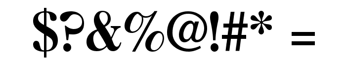 CaslonThreeSSK Font OTHER CHARS