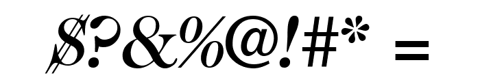CaslonTwoMediumSSK Italic Font OTHER CHARS