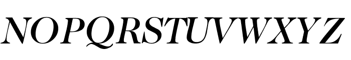 CaslonTwoMediumSSK Italic Font UPPERCASE