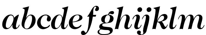 CaslonTwoMediumSSK Italic Font LOWERCASE