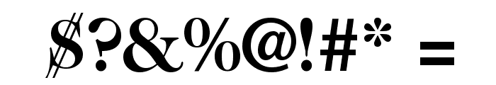 CaslonTwoSSK Bold Font OTHER CHARS