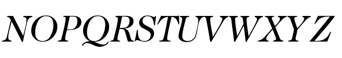 CaslonTwoSSK Italic Font UPPERCASE